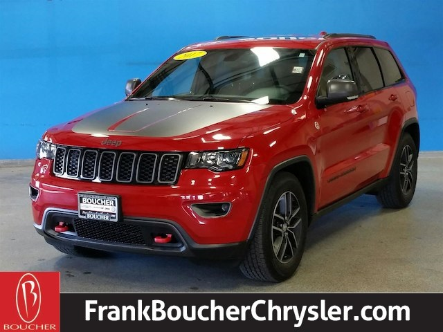 Certified Pre Owned 2017 Jeep Grand Cherokee Trailhawk