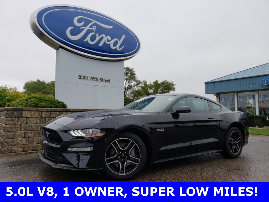 Certified pre owned 2018 ford mustang gt