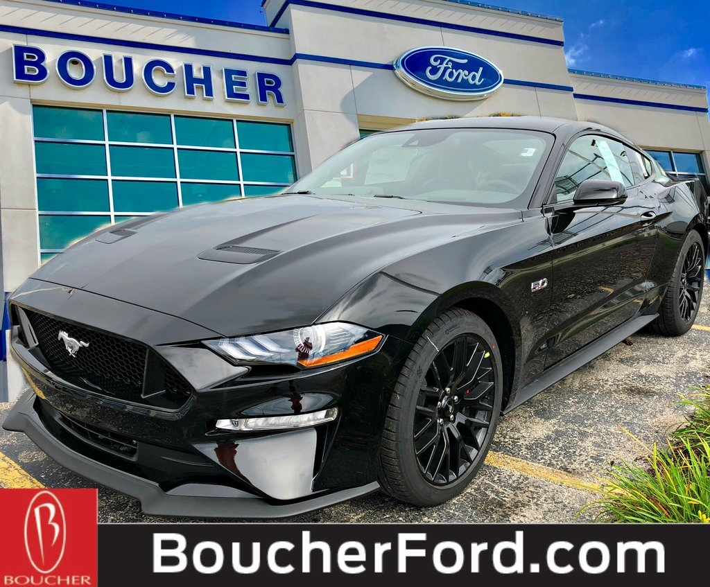New 2019 ford mustang gt premium rwd 2d coupe