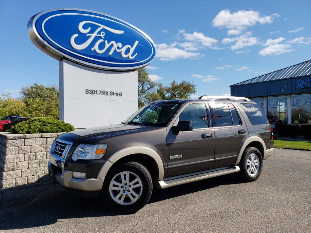 Pre owned 2007 ford explorer eddie bauer