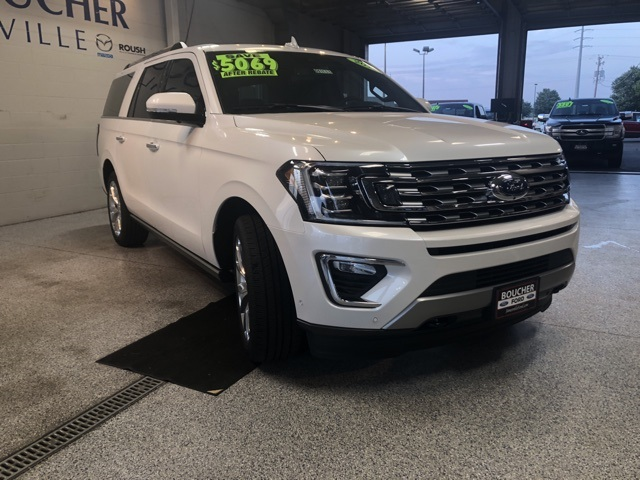 New 2018 Ford Expedition Max Limited 4d Sport Utility In The