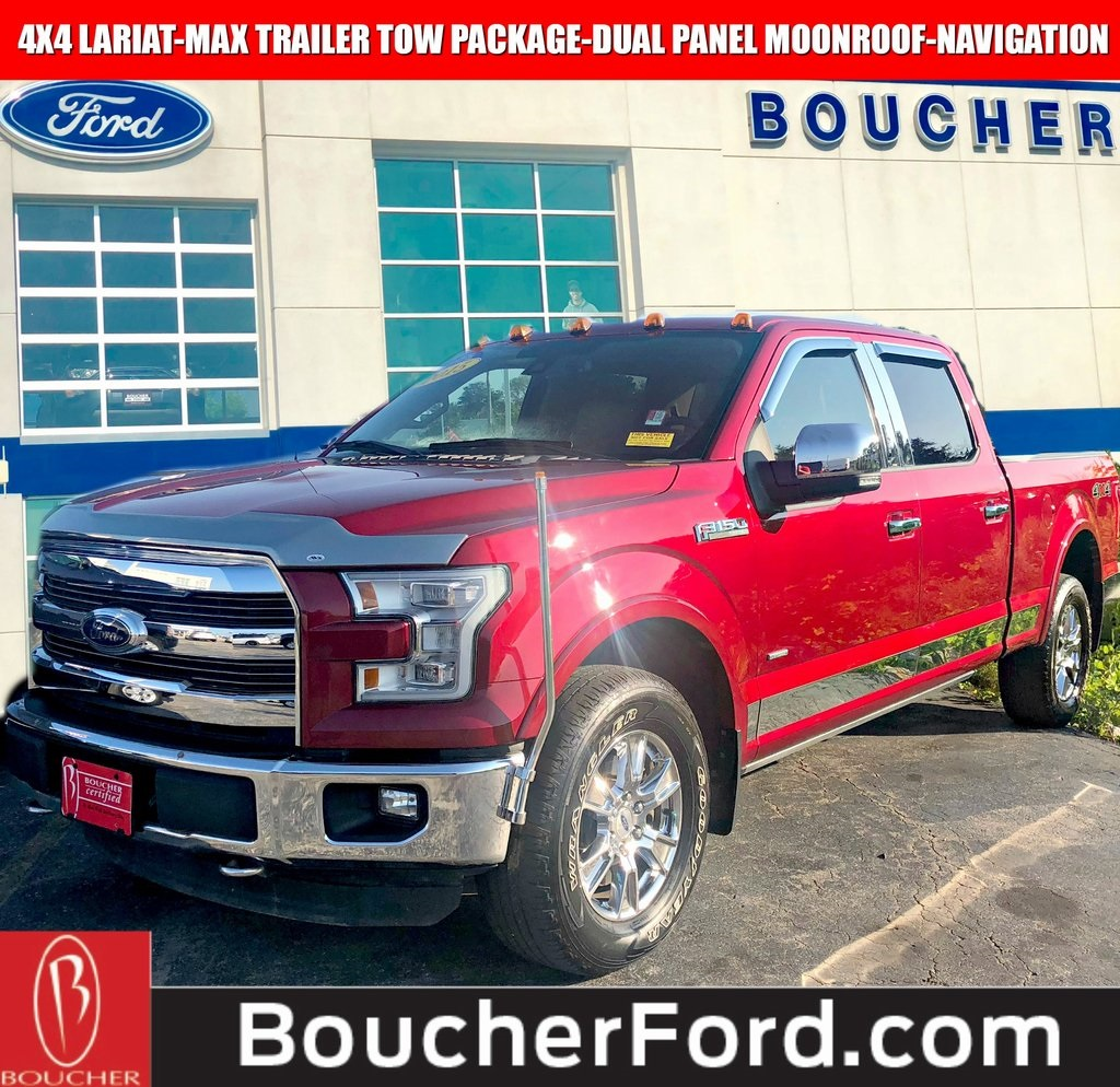 Certified Pre Owned  Ford F  Lariat