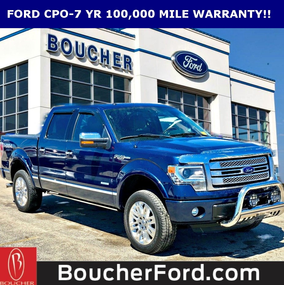 2014 F150 Platinum >> Certified Pre Owned 2014 Ford F 150 Platinum 4wd 4d Supercrew