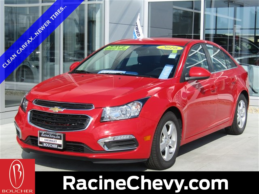 Certified Pre Owned 2016 Chevrolet Cruze Limited 1LT