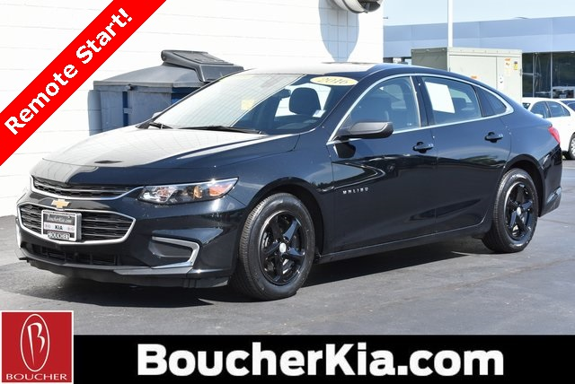 Pre Owned 2016 Chevrolet Malibu Ls Fwd 4d Sedan