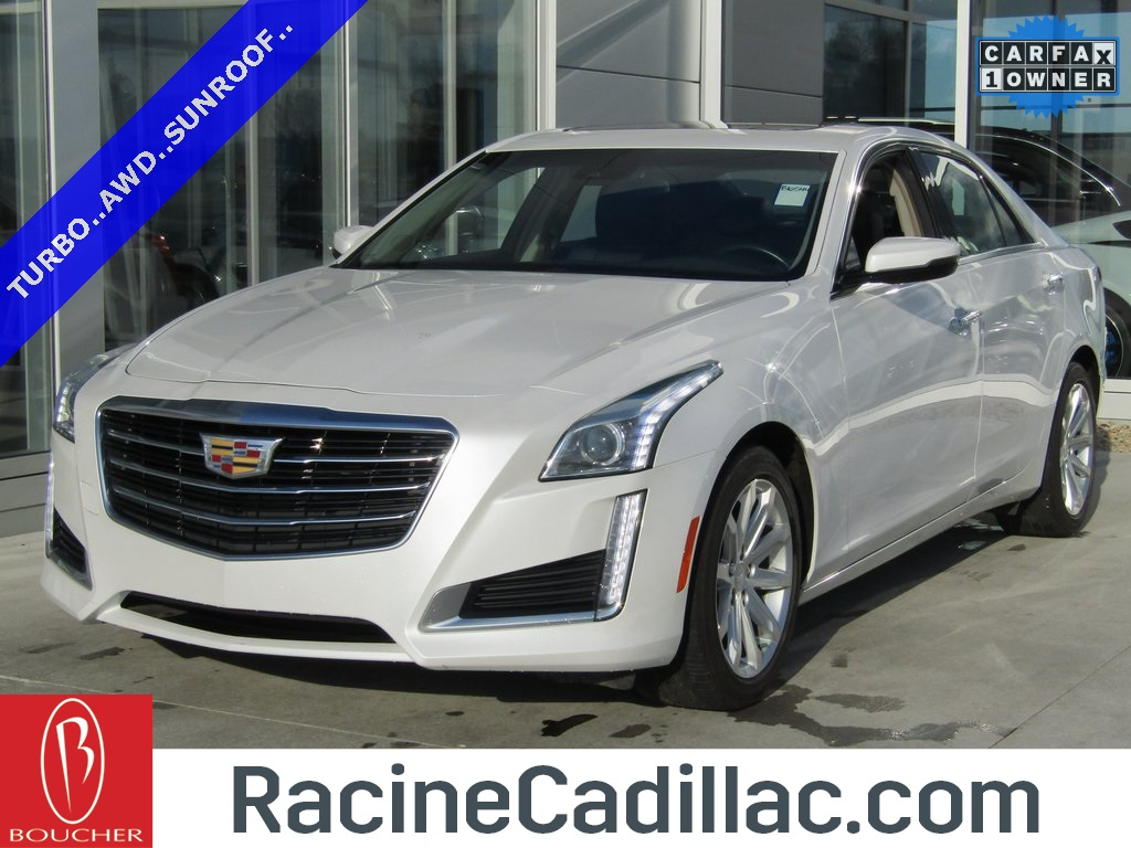 Certified Pre Owned 2015 Cadillac CTS 2.0L Turbo Luxury