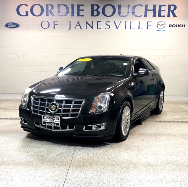 Pre Owned 2012 Cadillac Cts Performance 2d Coupe In The Milwaukee