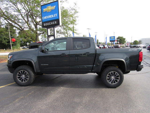 New 2018 Chevrolet Colorado Zr2 Truck In The Milwaukee