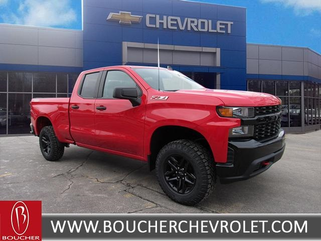New 2019 Chevrolet Silverado 1500 Custom Double Cab In The Milwaukee