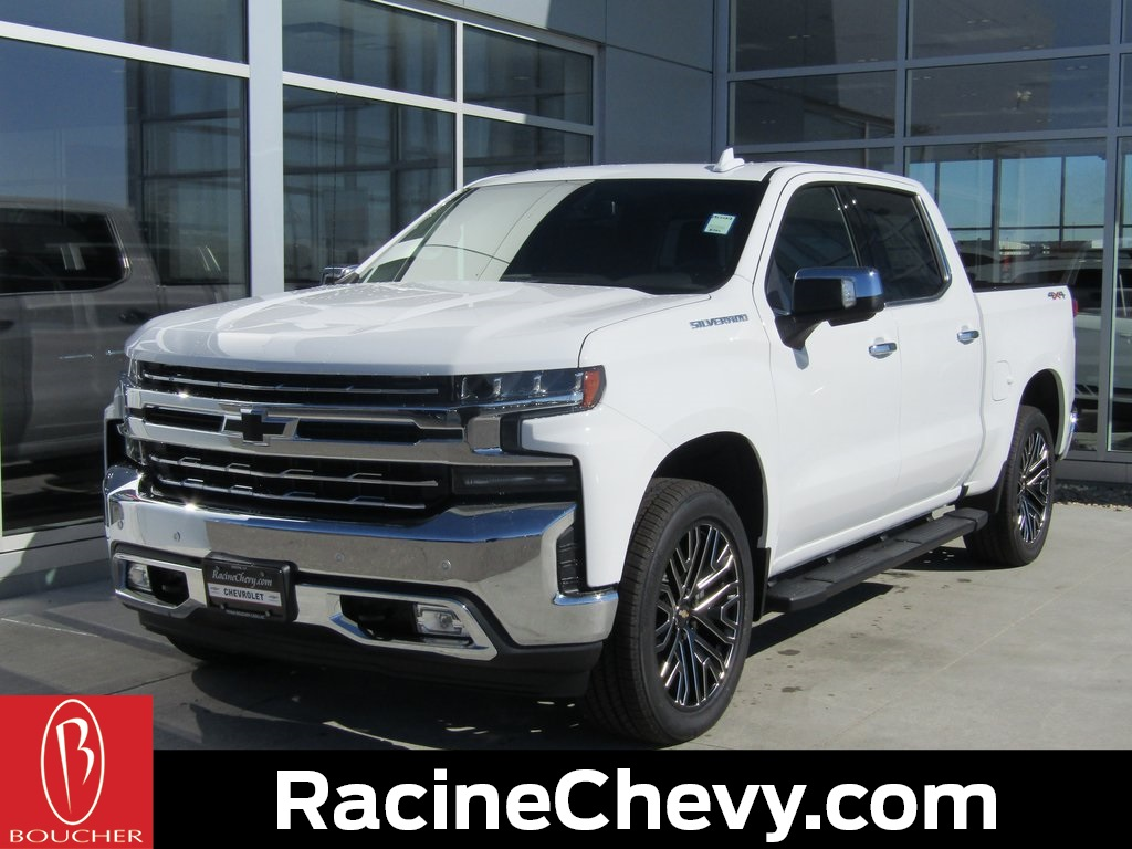 Lincoln Dealer Milwaukee >> New 2019 Chevrolet Silverado 1500 LTZ 4D Crew Cab in the ...