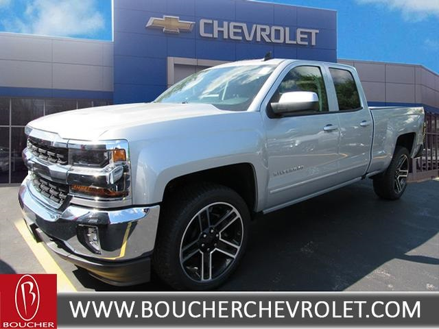 New 2017 Chevrolet Silverado 1500 Lt Double Cab In The Milwaukee
