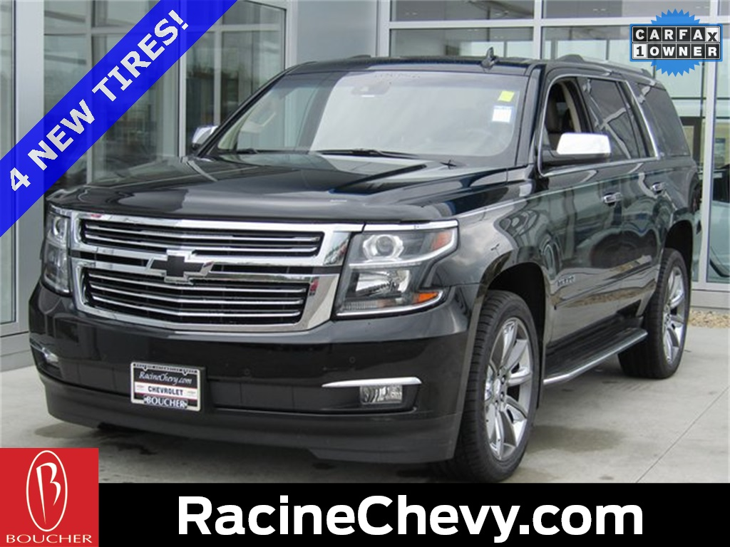 Certified Pre Owned 2015 Chevrolet Tahoe Ltz 4d Sport Utility In The Chevy Chrome Roof Rack