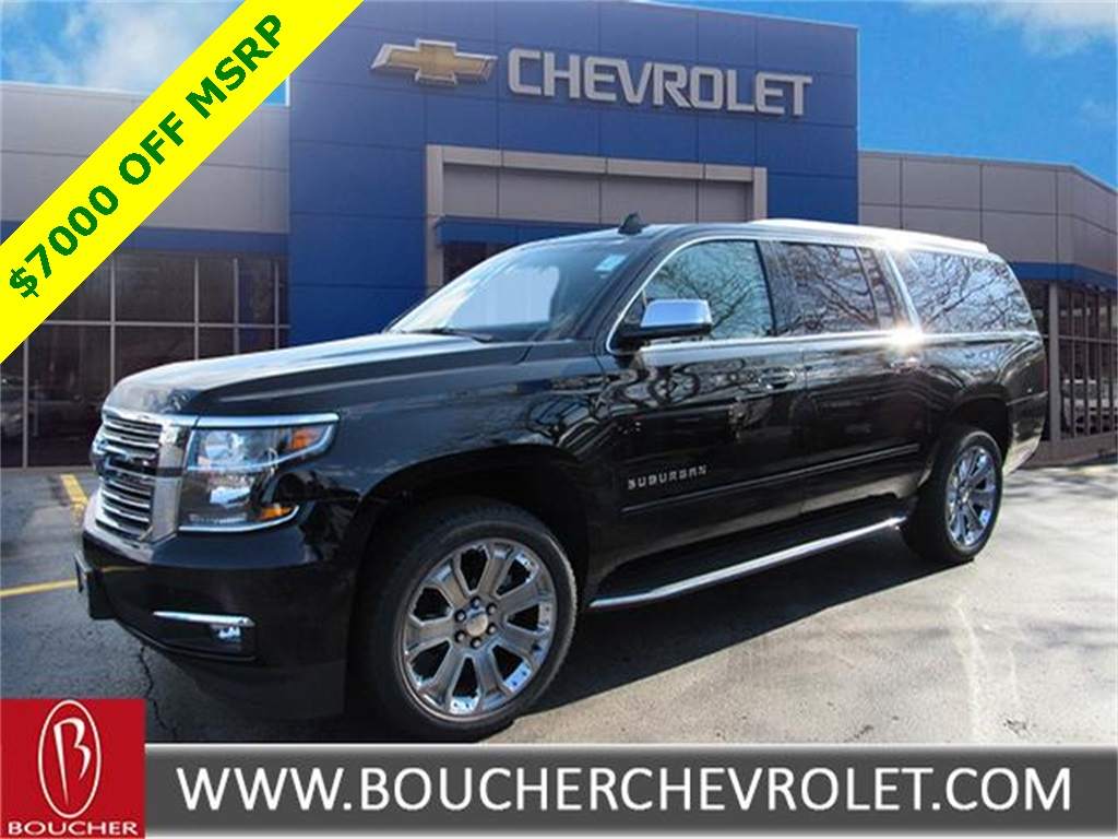 new 2017 chevrolet suburban premier 4d sport utility in the