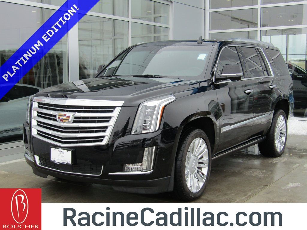 certified pre-owned 2017 cadillac escalade platinum edition 4d sport