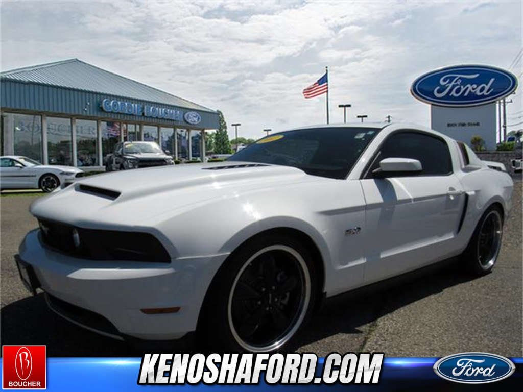 Pre owned 2012 ford mustang gt premium rwd 2d coupe