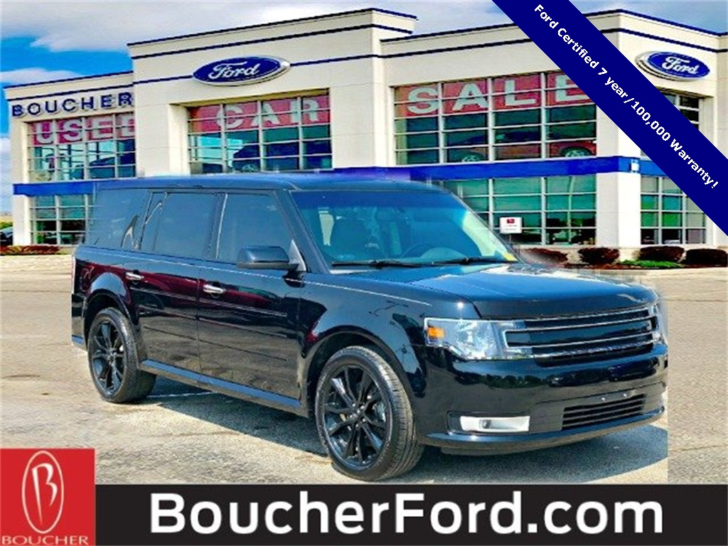 Ford Certified Pre Owned >> Certified Pre Owned 2017 Ford Flex Sel Awd 4d Sport Utility