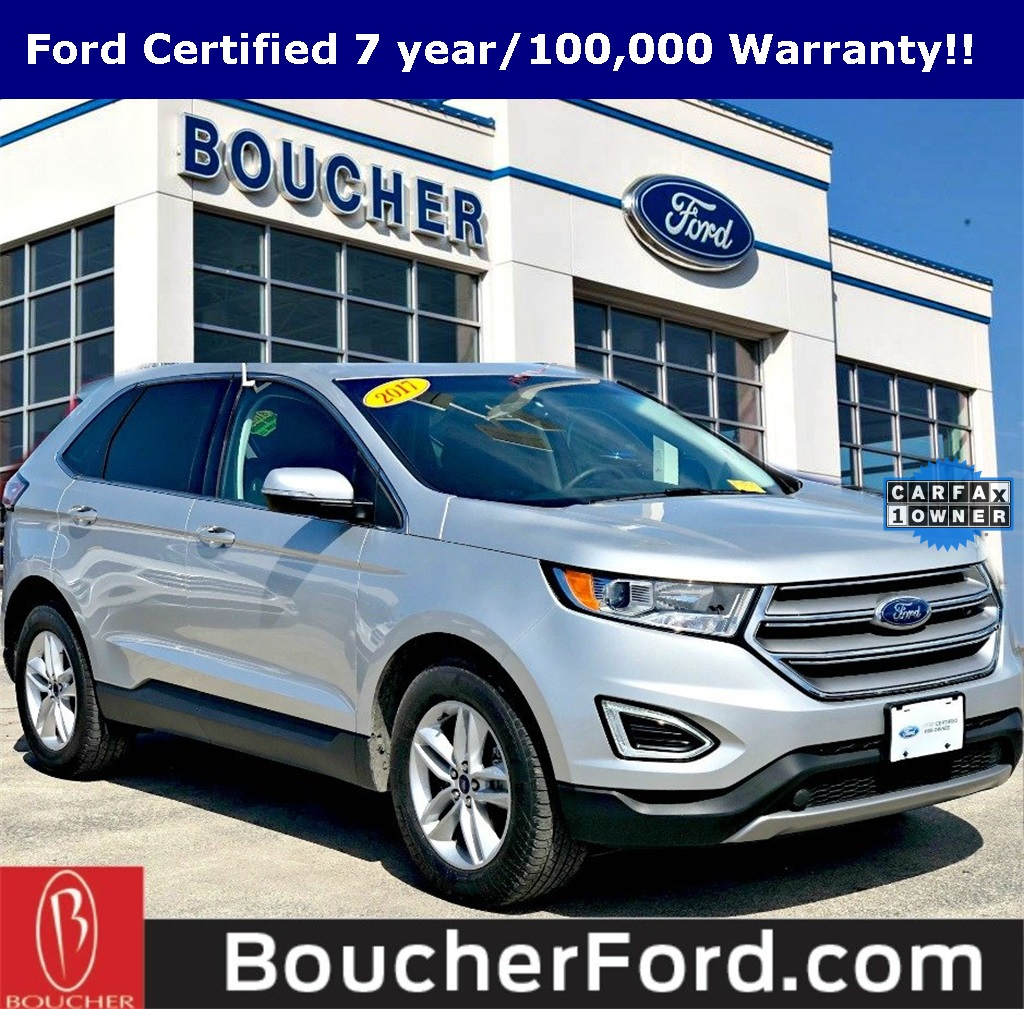 Ford Certified Pre Owned >> Certified Pre Owned 2017 Ford Edge Sel 4d Sport Utility In The