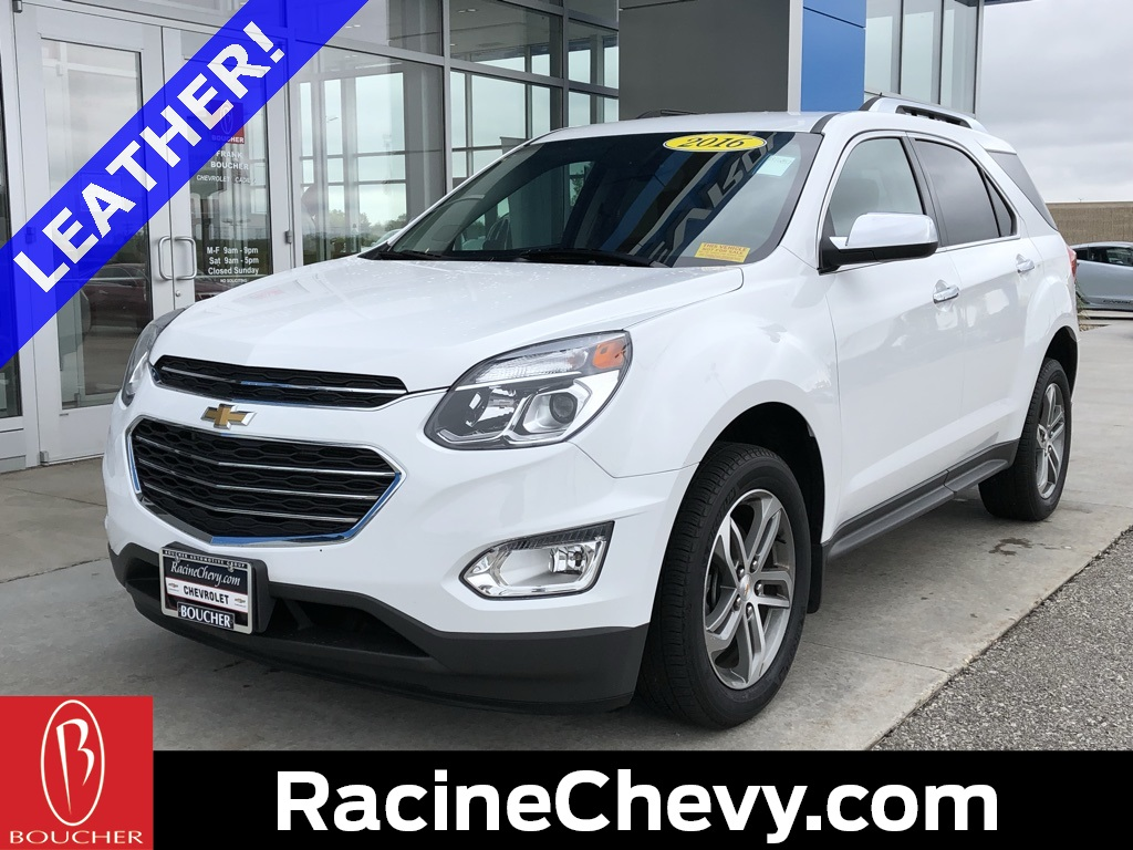 Chevrolet Certified Pre Owned >> Certified Pre Owned 2016 Chevrolet Equinox Ltz Fwd 4d Sport Utility