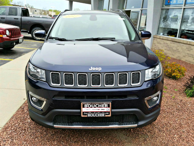 new 2017 jeep new compass limited suv in the milwaukee area 17jl411 boucher auto group. Black Bedroom Furniture Sets. Home Design Ideas