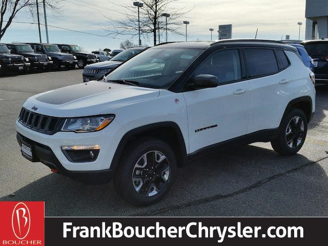New 2018 Jeep Compass Trailhawk Suv In The Milwaukee Area