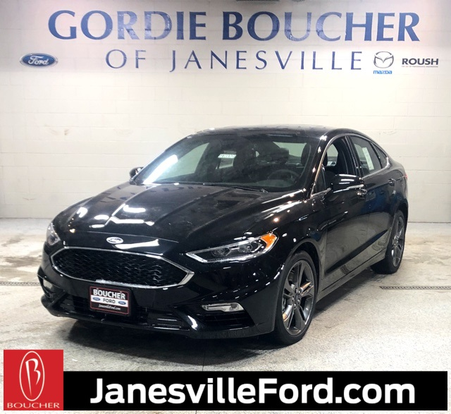 New 2019 Ford Fusion V6 Sport AWD 4D Sedan