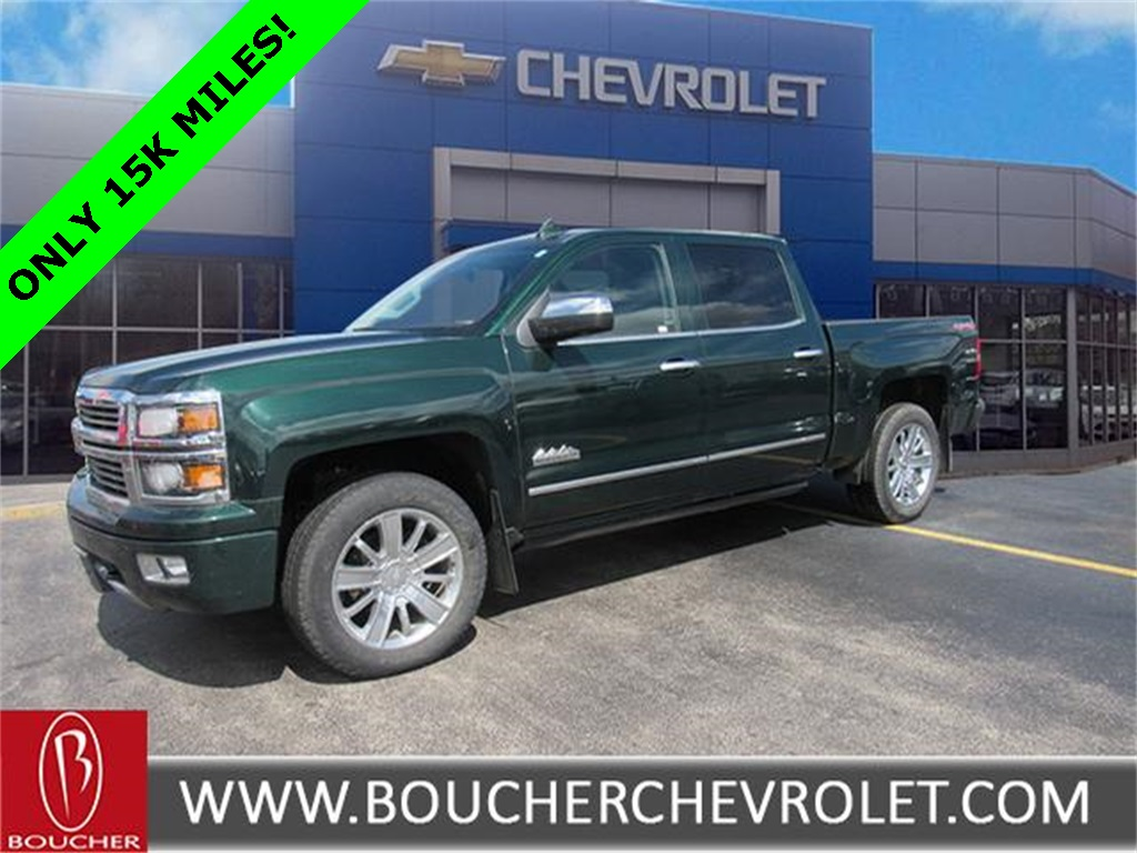 Certified Pre Owned 2015 Chevrolet Silverado 1500 High Country 4d