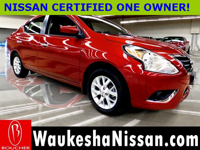 Nissan Certified Pre Owned >> Certified Pre Owned 2019 Nissan Versa 1 6 Sv Fwd 4d Sedan