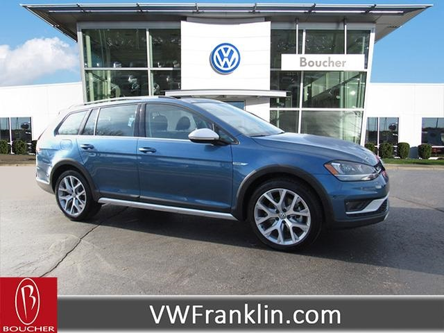 Certified Pre Owned 2017 Volkswagen Golf Alltrack Tsi Sel