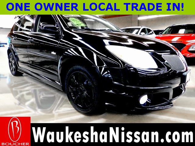 Pre-Owned 2005 Pontiac Vibe WITH LEATHER & MOONROOF