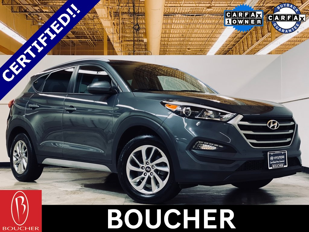 Hyundai Certified Pre-Owned >> Certified Pre Owned 2018 Hyundai Tucson Sel Awd 4d Sport Utility