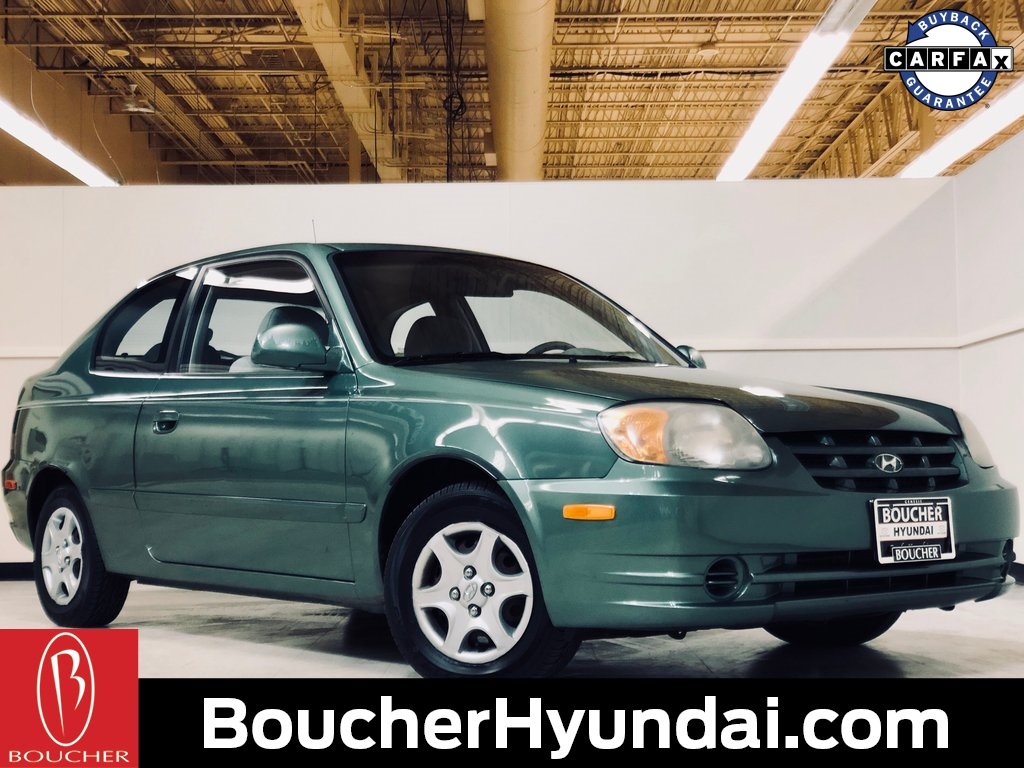 Pre-Owned 2005 Hyundai Accent GLS