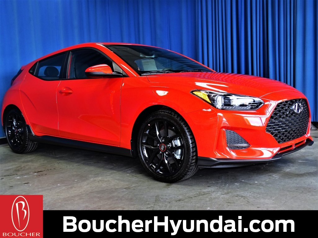 New 2019 Hyundai Veloster Turbo R Spec 3d Hatchback In The Milwaukee