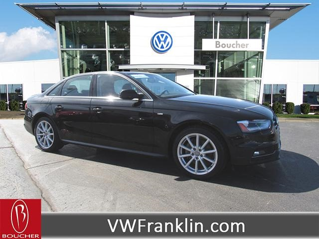 Audi A4 2.0 T >> Pre Owned 2016 Audi A4 2 0t Premium Plus Awd 4d Sedan