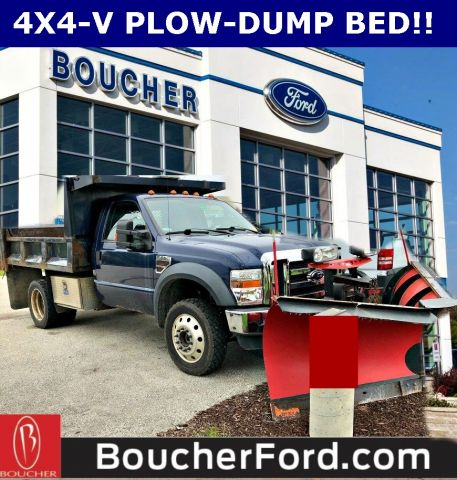 Pre-Owned 2008 Ford F-550SD XLT
