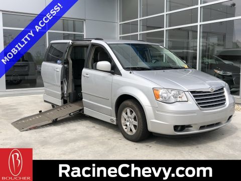 Pre-Owned 2010 Chrysler Town & Country Touring Power Wheelchair ramp