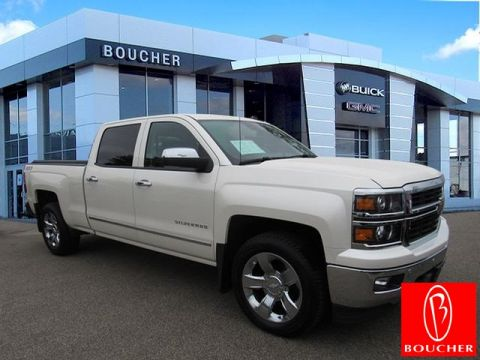 Certified Pre-Owned 2014 Chevrolet Silverado 1500 LTZ